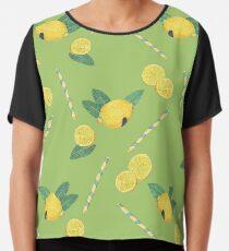 lemonade_green Chiffon Top