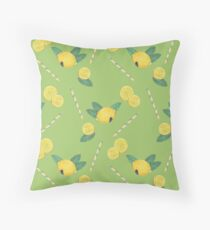 lemonade_green Floor Pillow