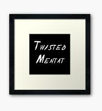 Twisted Mentat Framed Print