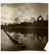 Bolton Priory & The River Wharfe Poster