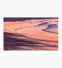 Sunset Waves Photographic Print