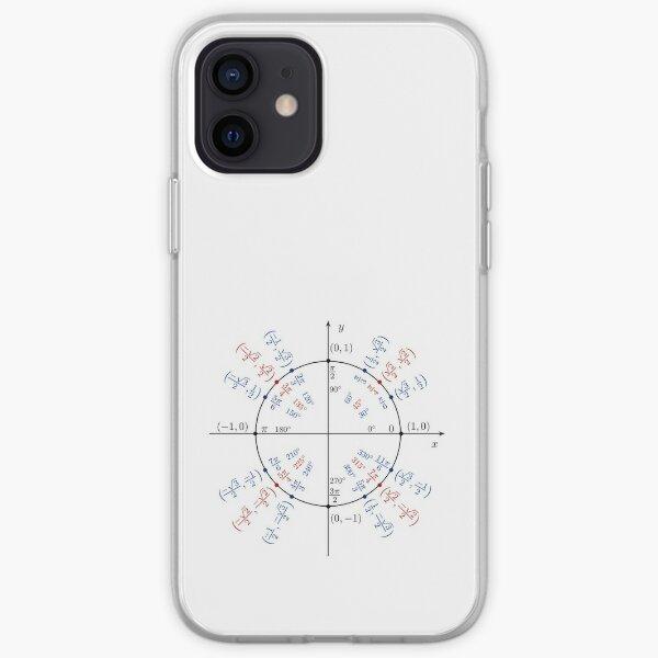 #UnitCircle, #Circle, #Trigonometry, #Sine, Trigonometric Functions, Cartesian Coordinate, System, Mathematics iPhone Soft Case
