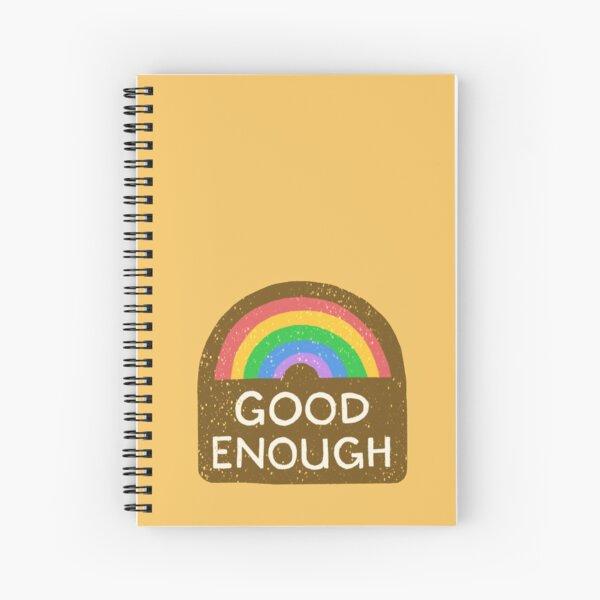 Good Enough Merit Badge Spiral Notebook