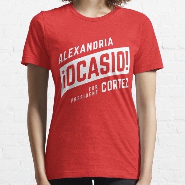 AOC for President Essential T-Shirt