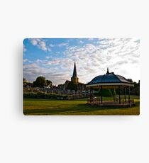 The Band Stand Canvas Print