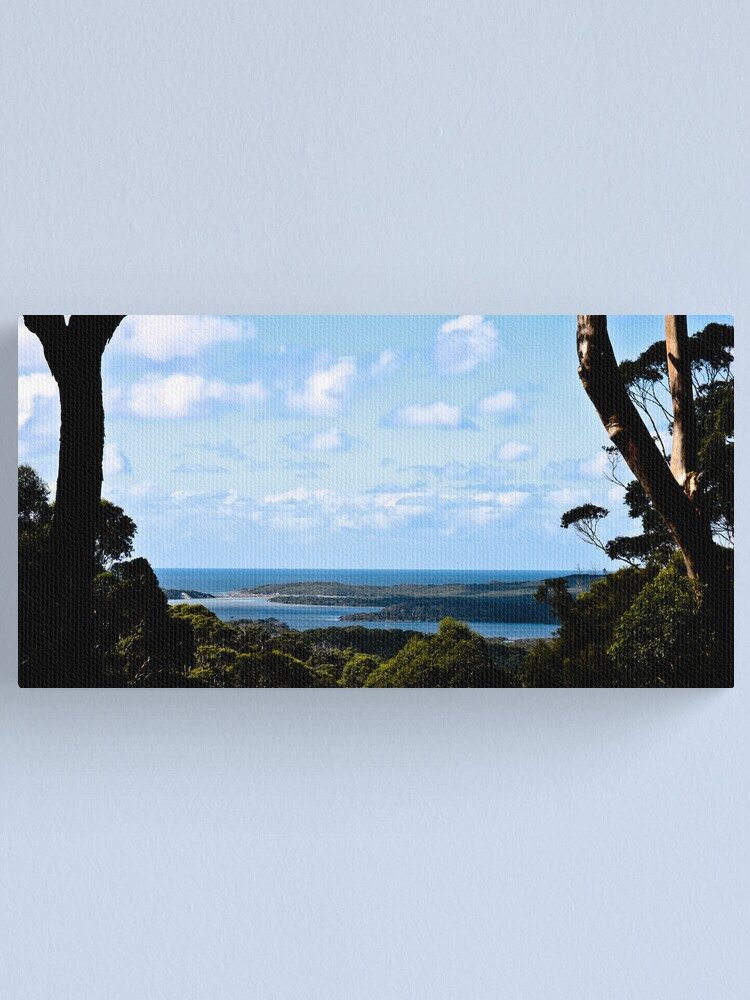 Alternate view of Nornalup Inlet Canvas Print
