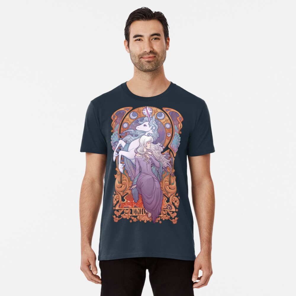Lady Amalthea - The Last Unicorn Premium T-Shirt