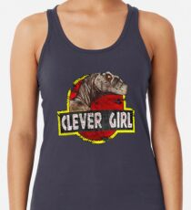 Clever Girl Racerback Tank Top