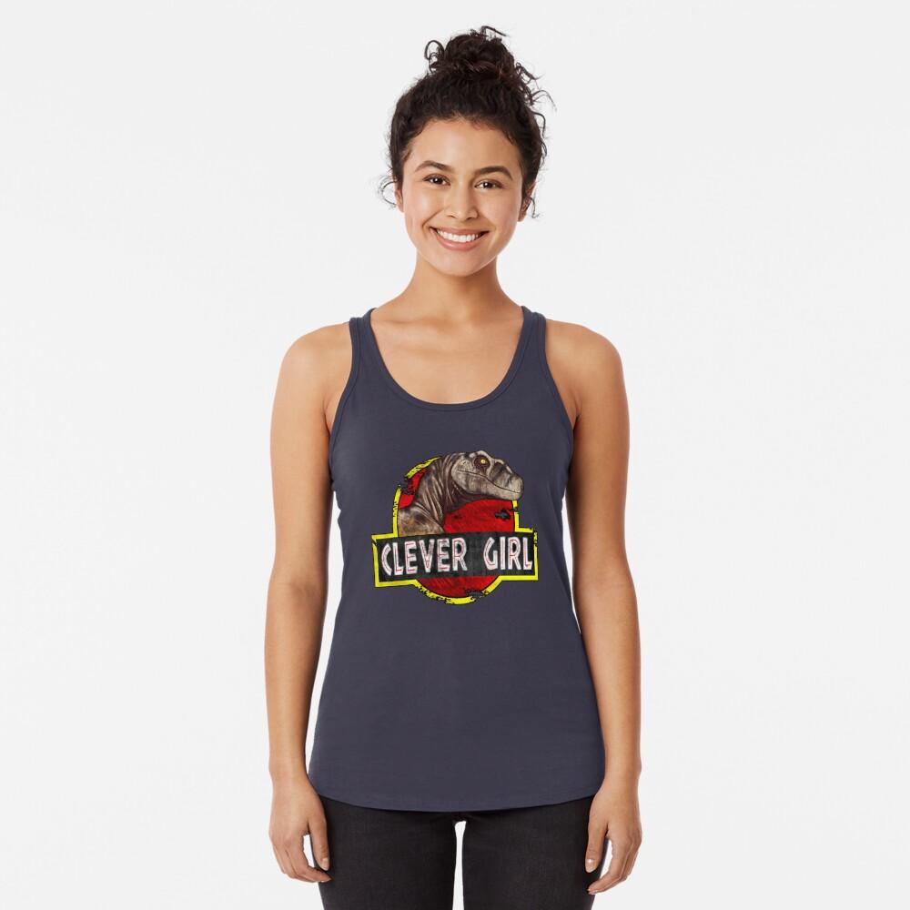 Clever Girl Racerback Tank Top