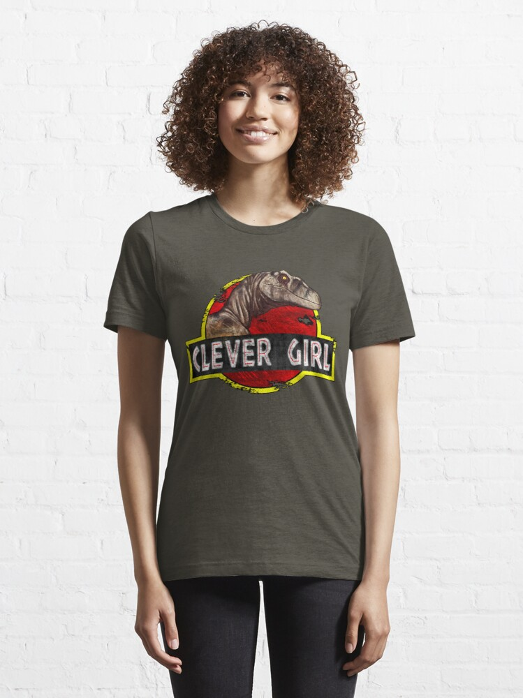 Alternate view of Clever Girl Essential T-Shirt
