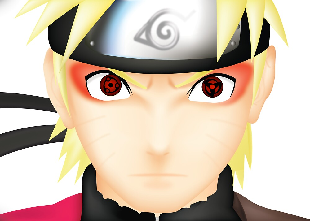 Quot mangekyou sharingan naruto quot by lucablight32 redbubble