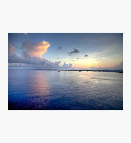 Grand Cayman HDR Sunrise Photographic Print