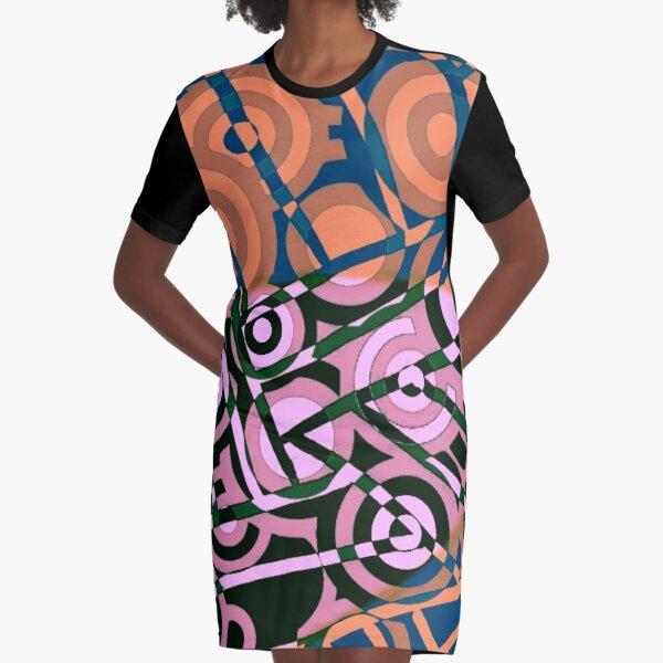 GCL OLDROSE Graphic T-Shirt Dress
