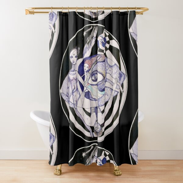 The Light Seekers Journey Shower Curtain