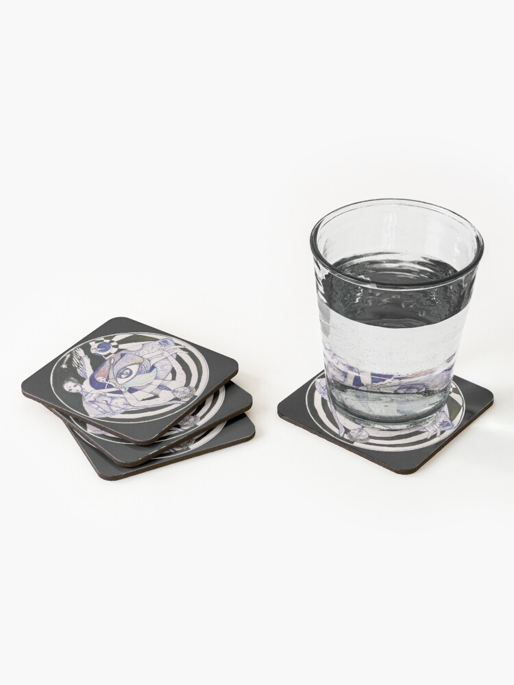 Alternate view of The Light Seekers Journey Coasters (Set of 4)