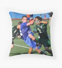 Scrimmage Throw Pillow