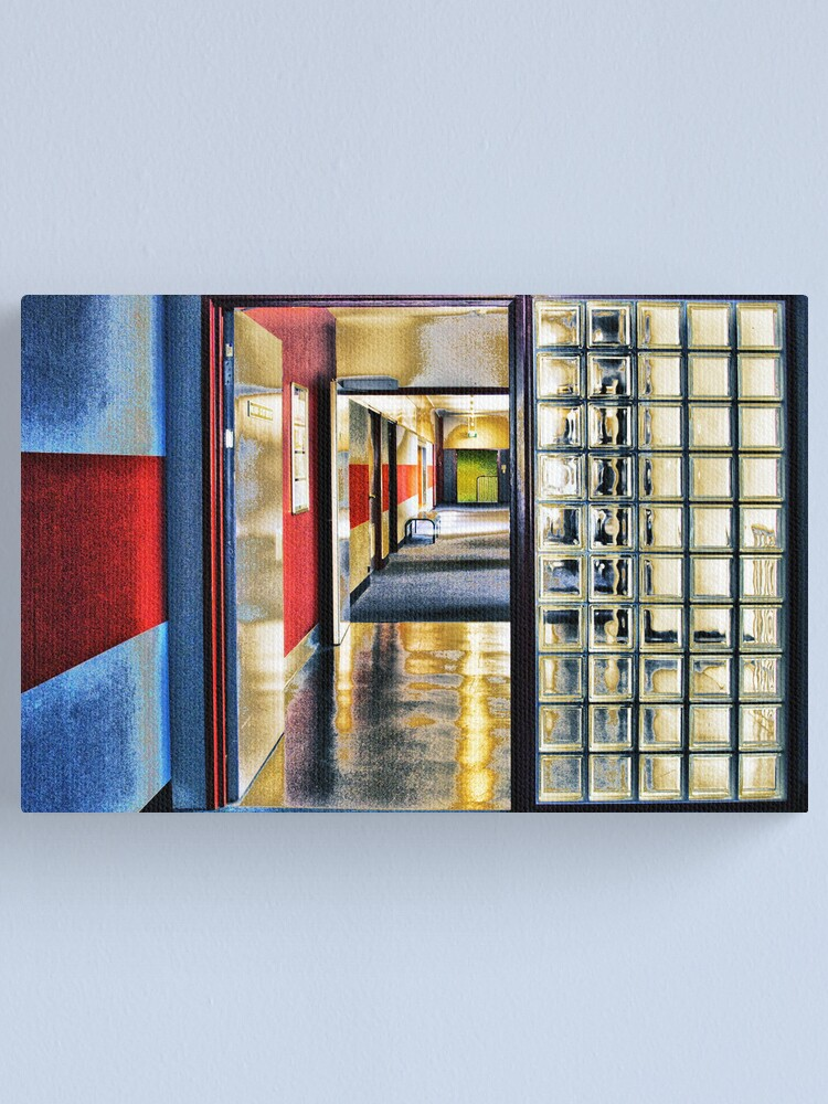 Alternate view of Corridor. UNSW Canvas Print