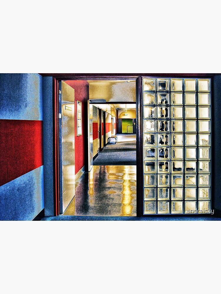 Corridor. UNSW by andreisky