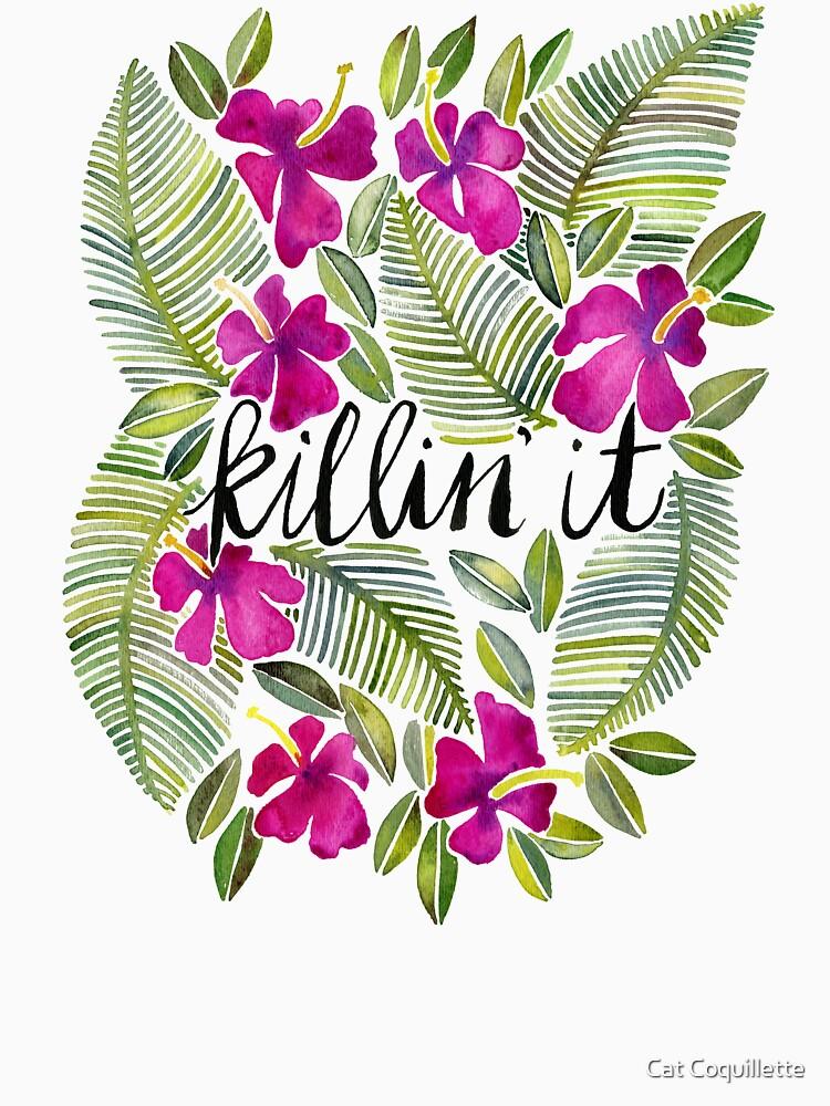 Killin 'es - tropisches Rosa von catcoq