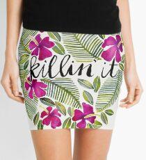 Killin' It – Tropical Pink Mini Skirt