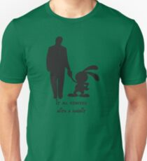 It all started with a rabbit. T-Shirt