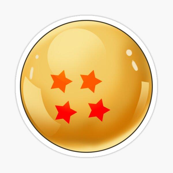 4 Star Dragonball Sticker