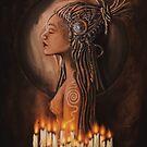 Priestess of the Moon and Sun by Daniel Watts