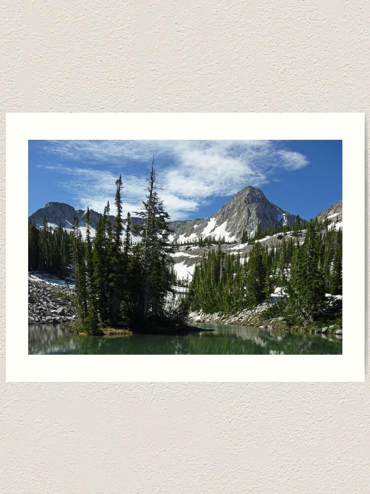 Alternate view of Alpine Pastoral Art Print