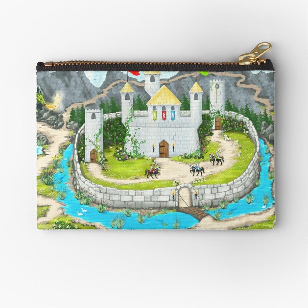 Enchanted Castle Playmat Zipper Pouch