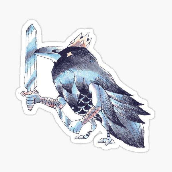 King Raven Sticker