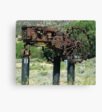 """When Tractors Fly"" - OK! Canvas Print"
