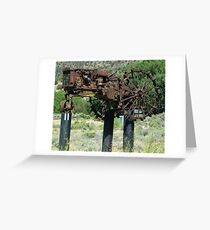 """""""When Tractors Fly"""" - OK! Greeting Card"""
