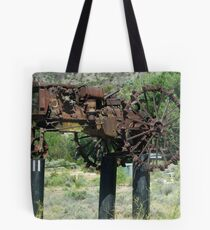 """""""When Tractors Fly"""" - OK! Tote Bag"""