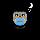 Night Night Blue Owl by Louise Parton