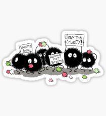Dust Bunnies Sticker
