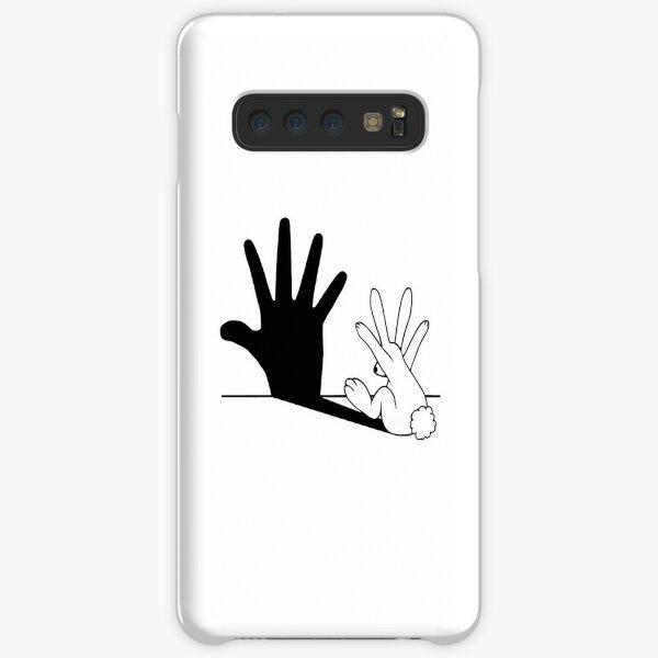 Rabbit Hand Shadow Samsung Galaxy Snap Case