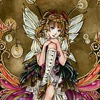Gears and Glass Steampunk Fairy by Meredith Dillman