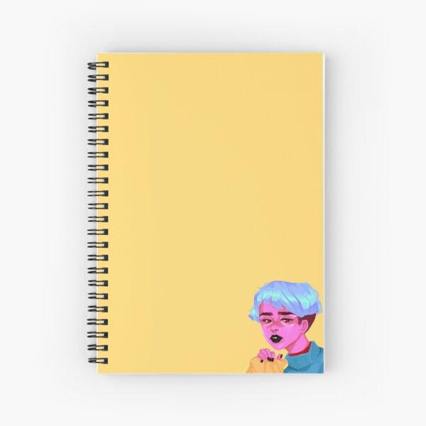 demon gf 1/2 Spiral Notebook