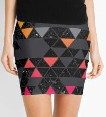 Gradient Space Mini Skirt