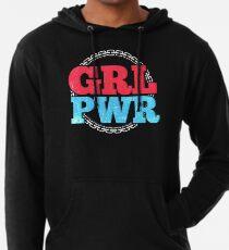 GRL PWR | Feministisches Girl Power Shirt Leichter Hoodie