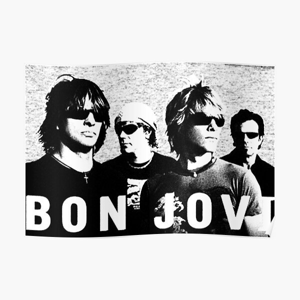 COLORED BON  PENCIL JOVI Poster