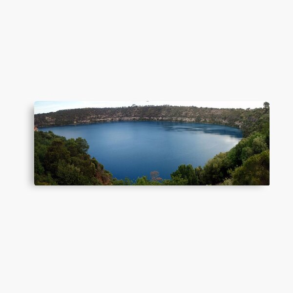 The Blue Lake Canvas Print