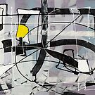 Expressive automatism abstract 912 by Eraclis Aristidou