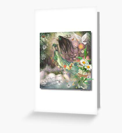 Quiet Mind Greeting Card