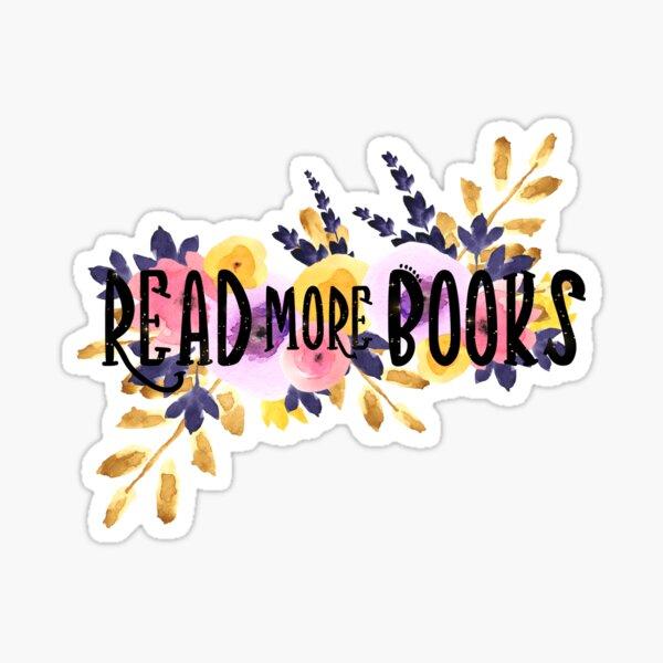 Read More Books Small Sticker