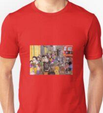 Crowded Oxford Street Unisex T-Shirt
