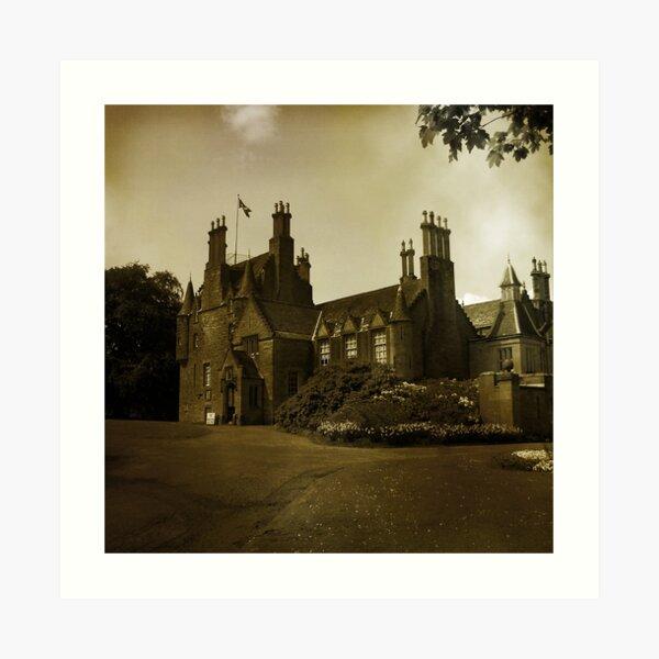 Lauriston Castle Art Print