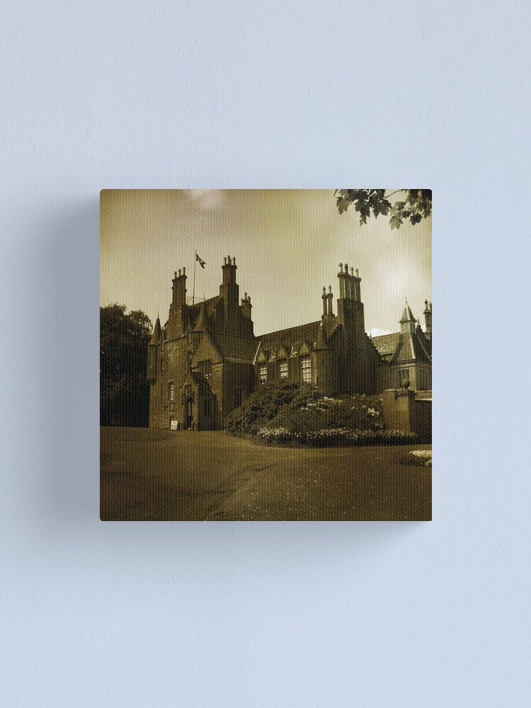 Alternate view of Lauriston Castle Canvas Print