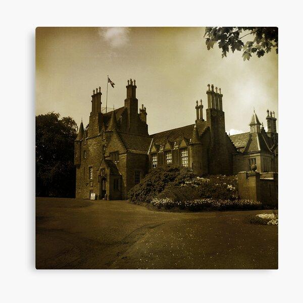 Lauriston Castle Canvas Print