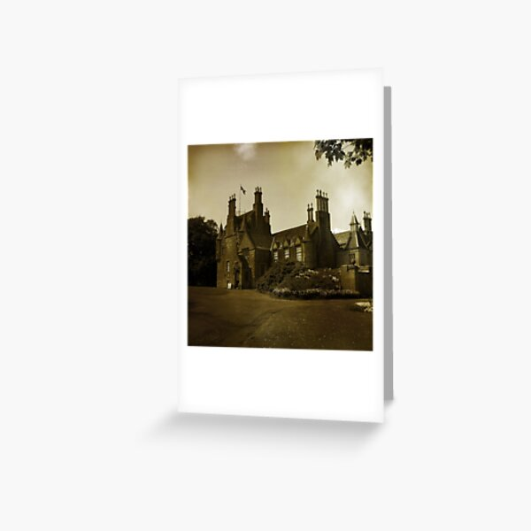 Lauriston Castle Greeting Card